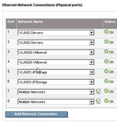 Correct Flex10 VLAN configuration