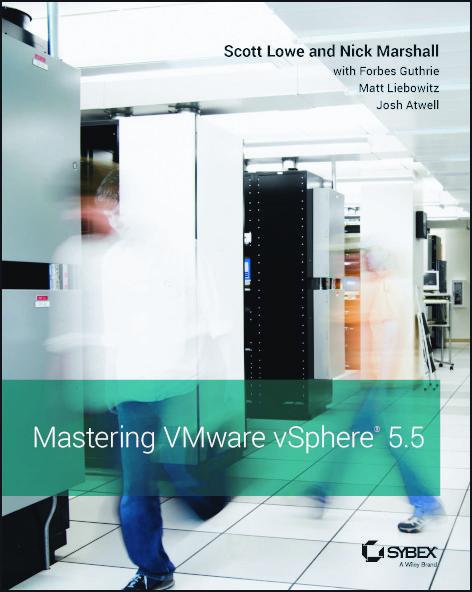Mastering VMware vSphere 5.5 cover