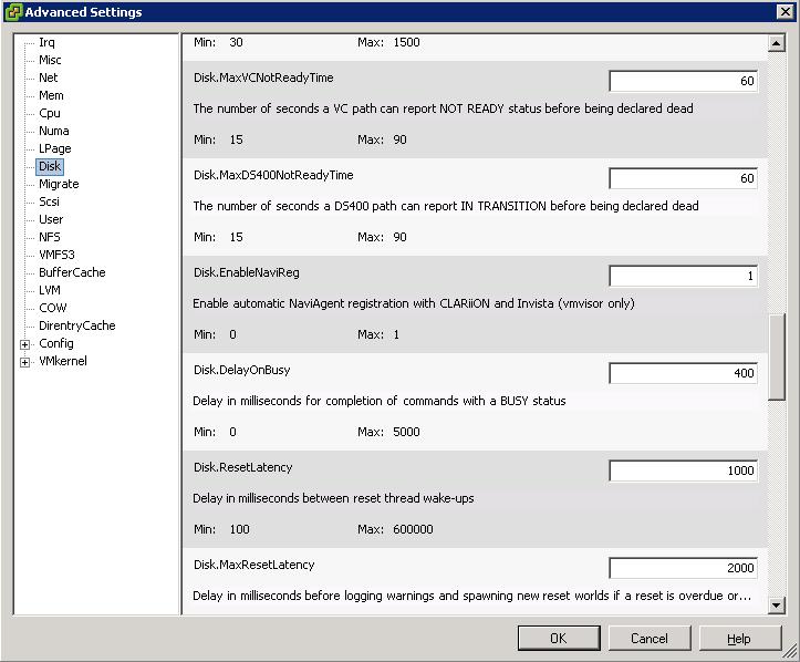 VMware ESX, EMC CLARiiON Arrays, and Multiple Protocols
